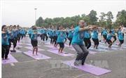 Gần 1.000 người đồng diễn Yoga