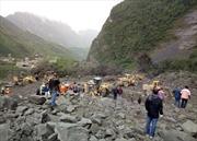 Sạt lở núi kinh hoàng vùi lấp hơn 100 người tại Trung Quốc