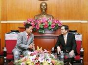 Củng cố và phát triển tình hữu nghị giữa Mặt trận hai nước Việt Nam - Campuchia