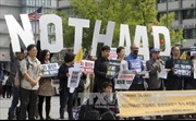 Hàn Quốc: Hàng nghìn người biểu tình tại thủ đô Seoul phản đối triển khai THAAD