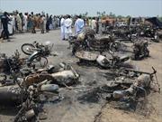 Vụ cháy xe chở dầu: Số người chết đã vượt 150, Thủ tướng Pakistan tức tốc về nước
