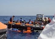 Hải quân Ireland cứu 712 người ngoài khơi Libya