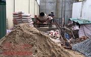Siết chặt cấp phép và truy bắt 'cát tặc', giá cát 'nóng' từng ngày