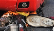 Phóng nhanh vượt ẩu, xe khách gây tai nạn trên quốc lộ 22B