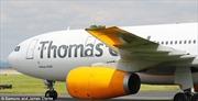 Máy bay chở 322 khách vỡ cánh, đáp khẩn cấp xuống Manchester