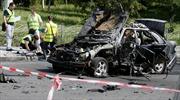 Nghi xe bị đánh bom khủng bố khiến đại tá tình báo Ukraine thiệt mạng