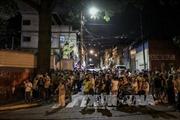 Trực thăng cảnh sát thả lựu đạn xuống Tòa án Tối cao Venezuela