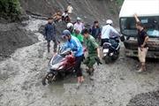 Nguy cơ tắc nghẽn QL12 nối Lai Châu và Điện Biên do sạt lở đất
