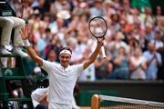 'Tàu tốc hành' Roger Federer lần thứ 11 vào chung kết Wimbledon