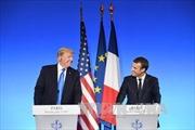 Pháp tràn trề hi vọng Tổng thống Trump đổi ý về Hiệp định Paris