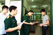 Lưu ý dành riêng cho thí sinh đăng ký vào trường quân đội