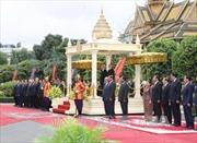 Tổng Bí thư Nguyễn Phú Trọng hội kiến Thủ tướng Campuchia Samdech Hun Sen