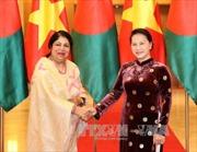 Chủ tịch Quốc hội đón, hội đàm với Chủ tịch Quốc hội Bangladesh