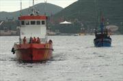 Bình Thuận khẩn trương tìm kiếm thuyền viên rơi xuống biển mất tích