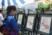 Khai mạc chuyên đề 'Uống nước nhớ nguồn' tại đường sách TP Hồ Chí Minh