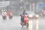 Bắc Bộ và Trung Bộ mưa dông trở lại, mực nước sông Hồng lên nhanh