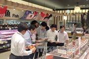 Cá tra Việt Nam - sản phẩm đạt tiêu chuẩn hàng đầu trong hệ thống siêu thị AEON ở Nhật