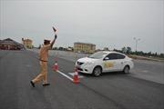 Hội thi công an lái xe giỏi và an toàn
