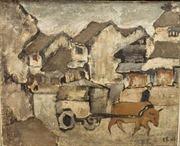 12 tác phẩm của các danh họa Việt Nam được đấu giá, bất chấp 'vấn nạn' tranh giả