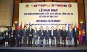 Khai mạc Hội nghị Quan chức cấp cao ASEAN lần thứ 38 về vấn đề ma túy