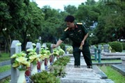 Tháng 7 trên các nghĩa trang liệt sỹ ở Điện Biên