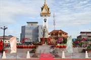 Khánh thành Tượng đài Hữu nghị Việt Nam - Campuchia tại tỉnh Battambang
