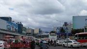 Khu vực sân bay quốc tế Tân Sơn Nhất lại ùn tắc nghiêm trọng