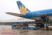Dừng khai thác, lùi giờ bay 6 chuyến bay Vietnam Airlines do bão Nesat