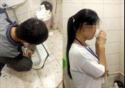 Kinh dị cảnh nhân viên bị phạt uống nước bồn cầu vì làm việc kém hiệu quả