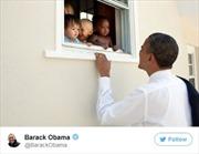 Cựu Tổng thống Mỹ Barack Obama ghi danh vào lịch sử Twitter