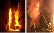 Cháy lớn tại thị trấn cổ nghìn năm tuổi ở Saudi Arabia
