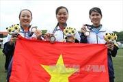 Nghị lực tuyệt vời của 3 nữ cung thủ tại  SEA Games 29