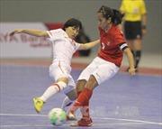 SEA Games 29: Thiếu may mắn, futsal nữ Việt Nam thất thủ ngày ra quân