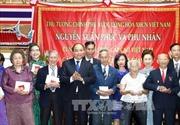 Thủ tướng Nguyễn Xuân Phúc gặp mặt các hội đoàn và Việt kiều toàn Thái Lan