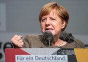 Thủ tướng Merkel tiếp tục khẳng định vị trí dẫn đầu trong cuộc đua bầu cử Đức