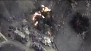 Không quân Nga tiêu diệt 200 tên khủng bố IS hành quân về Deir ez-Zor