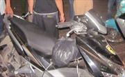 Cảnh sát giao thông bắt đối tượng trộm cắp xe máy