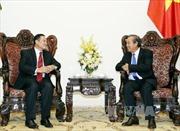Phó Thủ tướng tiếp xã giao Phó Chủ tịch Ủy ban Trung ương Mặt trận Lào xây dựng đất nước