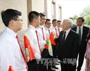 Tổng Bí thư Nguyễn Phú Trọng bắt đầu thăm Myanmar