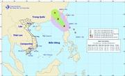 Áp thấp nhiệt đới mạnh lên thành bão Guchol gần Biển Đông