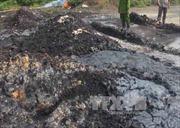 Bình Dương: 2 doanh nghiệp đổ hàng chục tấn chất thải nguy hại ra môi trường