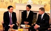 Phó Thủ tướng Vương Đình Huệ kết chuyến thăm và làm việc tại Slovakia