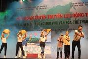 Liên hoan tuyên truyền lưu động về bảo vệ môi trường trong lĩnh vực VHTT&DL