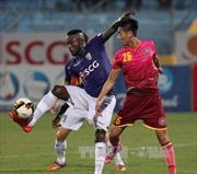 V.League 2017: Hà Nội và Sài Gòn níu chân nhau tại sân Hàng Đẫy
