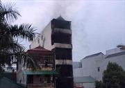 Hà Nội: Khẩn trương điều tra nguyên nhân vụ cháy lớn tại thị trấn Xuân Mai