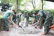 Dấu ấn bộ đội biên phòng trong phong trào nông thôn mới vùng biên giới