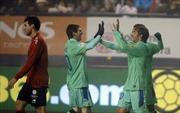 Osasuna 1-2 Barca: Sanchez tiếp tục lập công, Barca hẹn Real ở Kinh điển