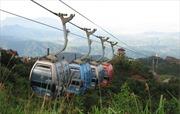 Hà Tĩnh: Đưa vào sử dụng hệ thống cáp treo chùa Hương Tích
