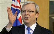 Ôxtrâylia: Uy tín của ông Kevin Rudd tăng cao
