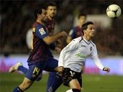 Valencia 1-1 Barcelona: Lợi thế cho đội khách